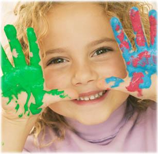bambini-pittura